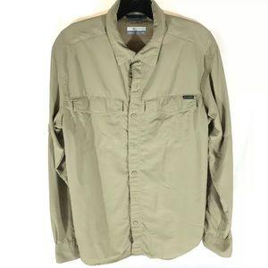 Columbia sportswear company button down shirt